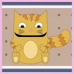 Funny cat — Stock Vector #13411469