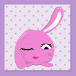Glamorous bunny — Stock Vector #13412757