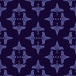 Stockvector : Semless pattern with lilies