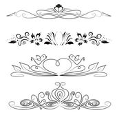 Set of design elements — Stock Vector