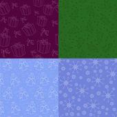Zestaw świąteczny tłach — Wektor stockowy