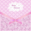 Baby shower — Vector de stock #14129779