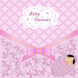 Stock vektor: Baby shower