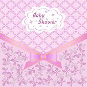 Ducha de bebé — Vector de stock