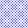Seamless pattern in blue cell — Stok Vektör