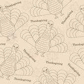 Thanksgiving seamless patern — Stock Vector