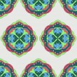Seamless pattern with abstract element — Imagen vectorial