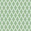 Green seamless pattern with rhombuses — Imagen vectorial