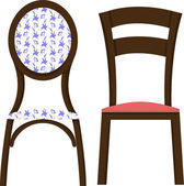Chairs — Stock Vector