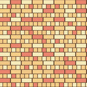 Seamless brick pattern — Stock Vector