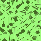 Cleaning seamless pattern — Stock Photo