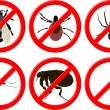 Stock Vector: No insects