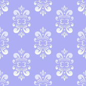 Blue damask pattern — Stock Vector