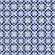 Blue seamless abstract pattern — Stock vektor