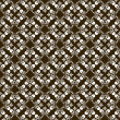 Brown pattern with decorative elements — Stockvectorbeeld