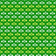 Green seamless abstract pattern — Stock Vector