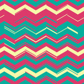 Zigzag chaos pattern — Stock Vector