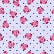 Seamless pattern with roses — Stock vektor #21335165