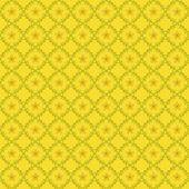 Yellow seamless pattern — Stock Vector