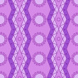 Lilac geomatry pattern — Stock vektor