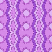 Lilac geomatry pattern — Stock Vector