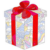 Colorful gift — Wektor stockowy