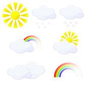 Weather — Vector de stock