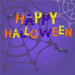 Happy halloween — Stockvectorbeeld