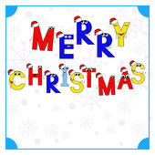 Christmas card 2 — Stock Vector