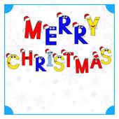 Christmas card 2 — Stock Vector