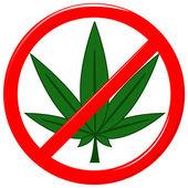 No drugs — Stock Vector