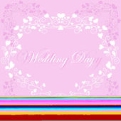 Wedding background — Vecteur