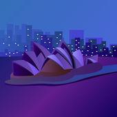Sydney — Stockvektor