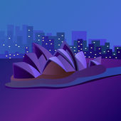 Sydney — Vector de stock