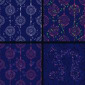 Blue circles — Stock Vector