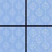Blue circle — Stock Vector