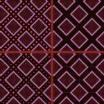 Brown rhombuses and polka dot — Stock Vector #48750889