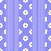 Striped flower — Stock Vector