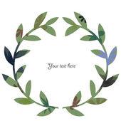 Wreath vintage 2 — Vector de stock