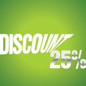 Discount — Stock Vector