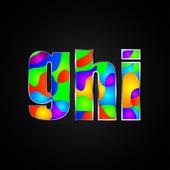 Красочный алфавит — Cтоковый вектор