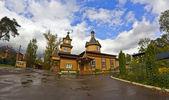 Kostel po dešti — Stock fotografie
