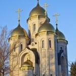 Church of All Saints at Mamaev burial — Stock Photo #14786523