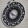 Unusual clock in Sochi - Foto Stock