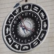Unusual clock in Sochi - Stock Photo