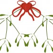 Branch of mistletoe — Stock Vector #16273843
