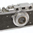 Soviet photocamera FED-NKVD — Stock Photo