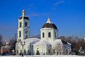 Iglesia de tsaritsino, moscú — Foto de Stock