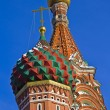 Domes of the Saint Basil cathedral — Stock fotografie