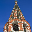 Stockfoto: Bell tower of Saint Basil cathedral